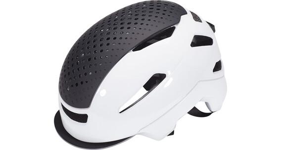 Bell Hub helm wit/zwart